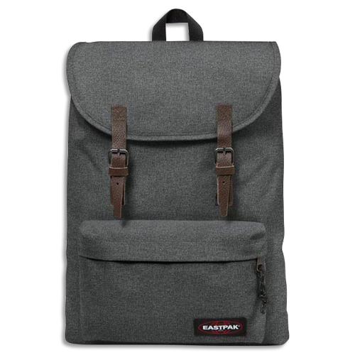 Code 391646, Désignation: EASTPAK Sac à dos BLACK DENIM 21 litres 1 compartiment. Coloris Gris anthracite.